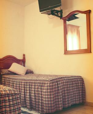 Habitación del Hotel Venta del Pobre